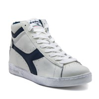 Diadora Scarpe fashion Uomo Game high waxed Panna/blu Fashion
