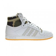 Adidas Scarpe fashion Mimetico Uomo Top ten hi Bianco/militare Outlet