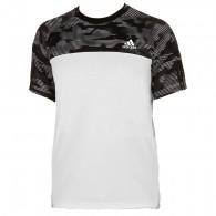 Adidas T-shirt Uomo Response tee Bianco/nero Tennis