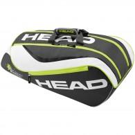 Head Porta racchette Bambino Junior combi Antracite Tennis