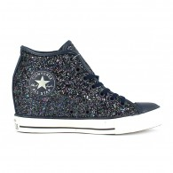 Converse All star mid lux glitter Scarpe tela alta Donna