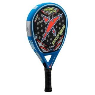 Drop shot Racchette padel Uomo Pala wizard Azzurro/argento/arancio Tennis