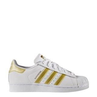 Adidas Scarpe fashion Bambina Superstar j Bianco/oro Fashion
