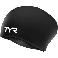 Tyr Cuffia Donna Long hair Nero Nuoto