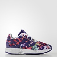 Adidas Scarpe fashion Bambina Zx flux el i Bianco/multicolor Fashion