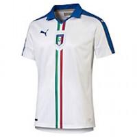 Puma Maglia m/c Uomo Italia Bianco Calcio