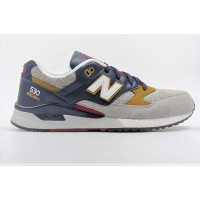 New balance Scarpe fashion Uomo M530 pig suede Grigio/blu/bordo Fashion