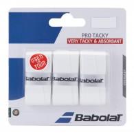 Babolat Overgrip Uomo Pro tacky x 3 Bianco Tennis