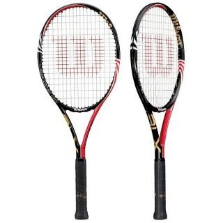 Wilson Racchette Uomo Six one 95 blx 18x20 Nero/rosso Tennis