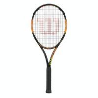 Wilson Racchette Uomo Burn 100s tns rkt Nero/arancio Tennis