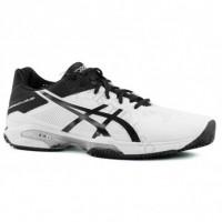 Asics Scarpe tennis Uomo Gel solution speed 3 clay Bianco/nero/silver Tennis