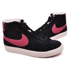 Nike Scarpe fashion Donna Blazer mid Nero/bordeau Fashion