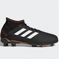 Adidas Scarpe calcio Bambino Predator 18.3 fg j Nero/bianco/rame Calcio