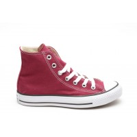Converse Scarpe tela alta Uomo Hi canvas Bordeau Fashion
