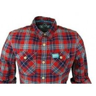 Superdry Slimline washbasket l/s shirt Camicia m/l Uomo