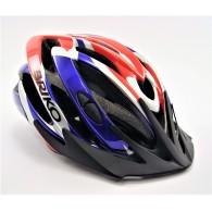 Briko Casco Uomo Zonda bike helmet Rosso/royal Multisport