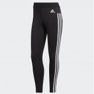 Adidas Leggings Donna Ess 3s tight Nero/bianco Multisport