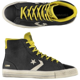 Converse Star player hi leather/suede Scarpe fashion Uomo