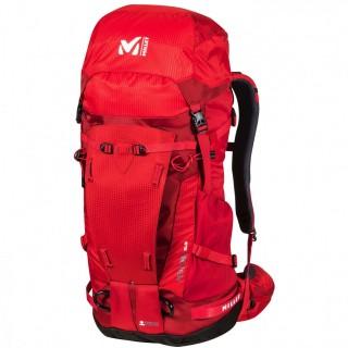 Millet Zaino Uomo Peuterey integrale 35+10 gr.1420 Rosso/nero Montagna