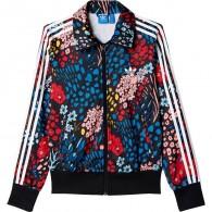 Adidas Jacket Donna Firebird tt Nero/multicolor Fashion