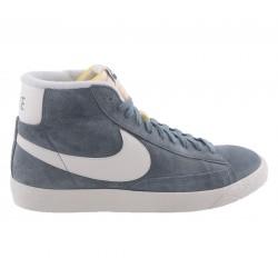 Nike Scarpe fashion Donna Blazer mid Grigio/bianco Fashion
