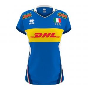 Errea Naz. italia volley 1^mg replica T-shirt Donna