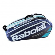 Babolat Porta racchette Uomo Rh 12 pure wimbledon Blu/bianco/turchese Tennis