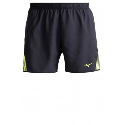 Mizuno Shorts Uomo Venture square 5.5 short Antracite/lime Running