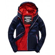 Superdry Dual zip through tri colour cagoule Kee way Uomo