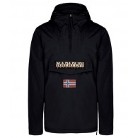 Napapijri Anorak Uomo Rainforest Nero Fashion