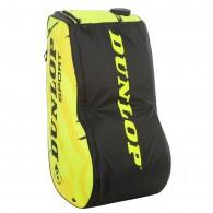 Dunlop Porta racchette Uomo Revolution nt 12 Nero/giallo fluo Tennis