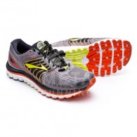 Brooks Scarpe running Uomo Glycerin 12 Grigio/lime/rosso Outlet