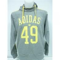 Adidas Felpa cappuccio Uomo Lpm 49 hoody Grigio/giallo Multisport