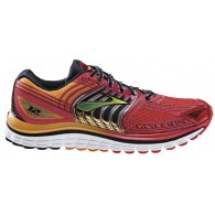 Brooks Scarpe running Uomo Glycerin 12 Rosso/lime Outlet