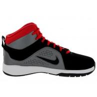 Nike Scarpe basket Bambino Team hustle d6 Nero/grigio/rosso Basket