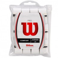 Wilson Overgrip Uomo Pro overgrip 12pk Bianco Tennis
