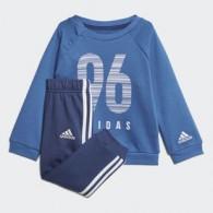 Adidas I e crew jog ft Tuta cotone Bambino
