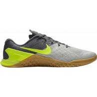 Nike Scarpe crossfit Uomo Metcon 3 Antracite/grigio/giallo Multisport