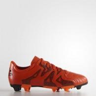 Adidas Scarpe calcio Bambino X 15.3 fg/ag j leat Arancio/nero Calcio