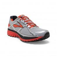 Brooks Scarpe running trail Uomo Ghost 8 gtx Argento/arancio/nero Running