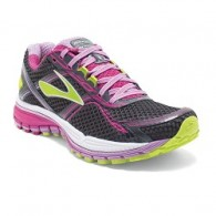 Brooks Scarpe running Donna Ghost 8 Antracite/fucsia/lime Running