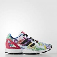 Adidas Scarpe fashion Bambina Zx flux c Bianco/multicolor Fashion