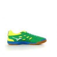 Mizuno Scarpe calc.indoor Uomo Sala classic 2 in Verde/lime/azzurro Calcio a5