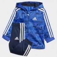 Adidas I e shiny fzh j Tuta poliestere Bambino