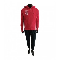 Adidas Tuta cotone Uomo Lpm logo hd ts Rosso/blu/bianco Multisport
