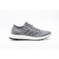 Adidas Scarpe running Uomo Pure boost Grigio melange Running
