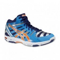 Asics Scarpe volley Uomo Gel beyond 4 Turchese/blu/arancio Volley