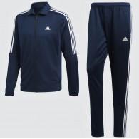 Adidas Tuta poliestere Uomo Tiro ts Blu/bianco Fashion