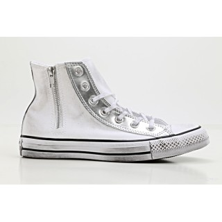 Converse All star hi side zip can/synth Scarpe tela alta Donna