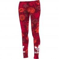 Adidas Leggings Fantasia Donna Trefoil legging Rosso Fashion